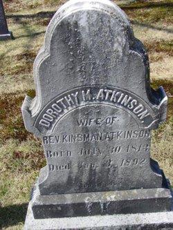 Dorothy Myrick <i>Woods</i> Atkinson