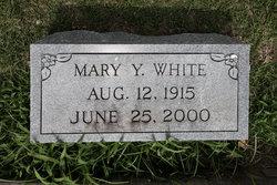 Mary Ygondine <i>Jones</i> White
