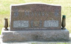 Alvina Mary <i>Poepping</i> Mayers