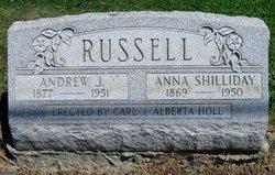 Anna <i>Shilliday</i> Russell