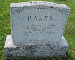 Evelyn Myrtle <i>Baldwin</i> Baker