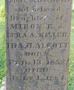 Ida H <i>Miller</i> Alcott
