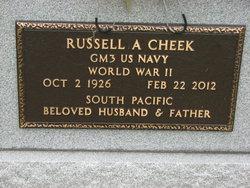 Russell A. Cheek