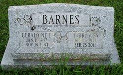 Geraldine Elizabeth <i>Sterner</i> Barnes