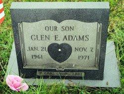Glen E Adams
