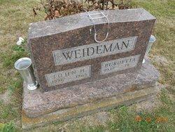 Burdetta Weideman