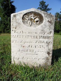 Mary Matilda Mahony