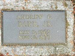 Andrew G Barr, Jr