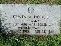 Sgt Erwin A Dodge
