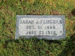 Sarah Jane <i>Ellis</i> Fairchild