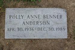 Polly Anne <i>Benner</i> Anderson