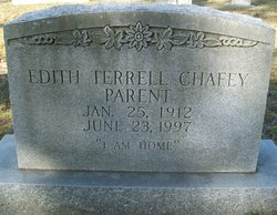 Edith Terrell <i>Chafey</i> Parent