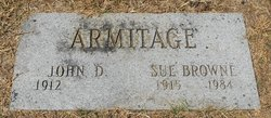 Sue <i>Browne</i> Armitage