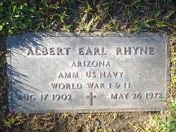 Albert Earl Rhyne