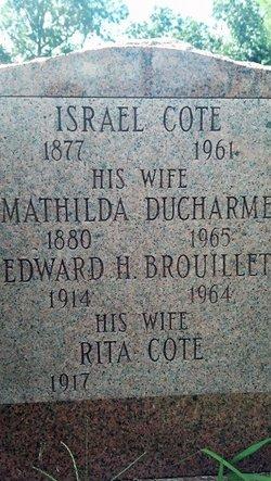 Mathilda L <i>Ducharme</i> Cote