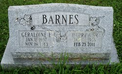 Harry B Barnes, Sr