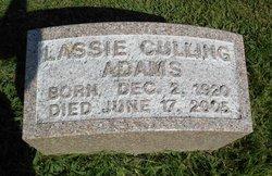 Lassie Culling Adams