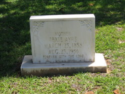 Texana 'Texie' J <i>Waldrop</i> Ayers