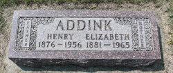 Elizabeth <i>Houtsma</i> Addink