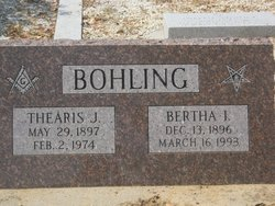 Bertha I. <i>Bowman</i> Bohling