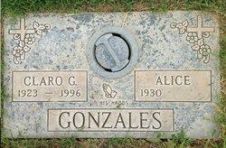 Alice <i>Lopez</i> Gonzales