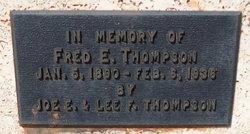 Fred E. Thompson