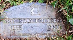 Mary Lou <i>Stedman</i> Askew