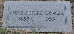 Annie Mae <i>Peters</i> Dowell
