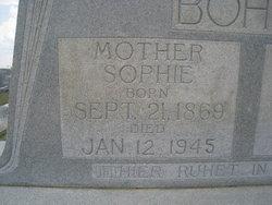Elise Sophie <i>Lange</i> Bohne