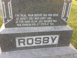 Bedstemor <i>Olson</i> Rosby