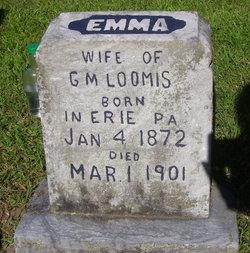 Emma May <i>Lent</i> Loomis