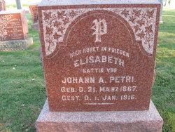 Elisabeth <i>Wirtz</i> Petri