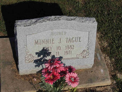 Minnie Jane <i>Spivey</i> Tague