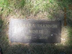 Barbara <i>Shannon</i> Morse