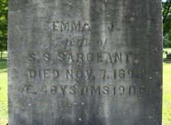 Emma J. <i>Scribner</i> Sargeant