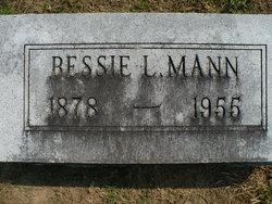 Elizabeth A Bessie <i>Livingston</i> Mann