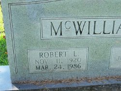 Robert Lee McWilliams