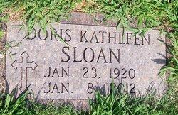 Doris Kathleen <i>Gilliam</i> Sloan