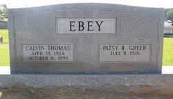 Patsy Ruth Pat Ebey