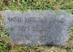 Annie Virginia Hall