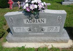 Ethel M. <i>Braun</i> Adrian