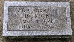 Lydia <i>Cornwell</i> Rorick