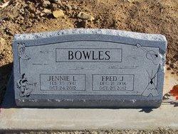 Jennie Lea <i>Thornton</i> Bowles