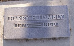 Harry H Hambly