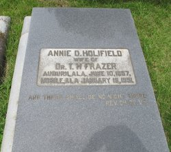 Annie Dora <i>Holifield</i> Frazer
