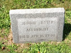 Jane Jennie <i>Marshall</i> Albright