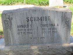 Christina A. <i>Span</i> Schmidt