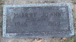 Harriett Joann Hurlbutt