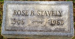 Rose M <i>Burkle</i> Stavely