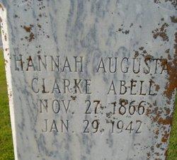 Hannah Augusta <i>Clarke</i> Abell